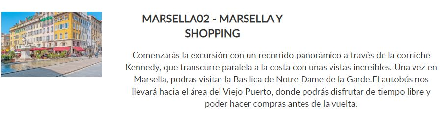 marsella y shopping