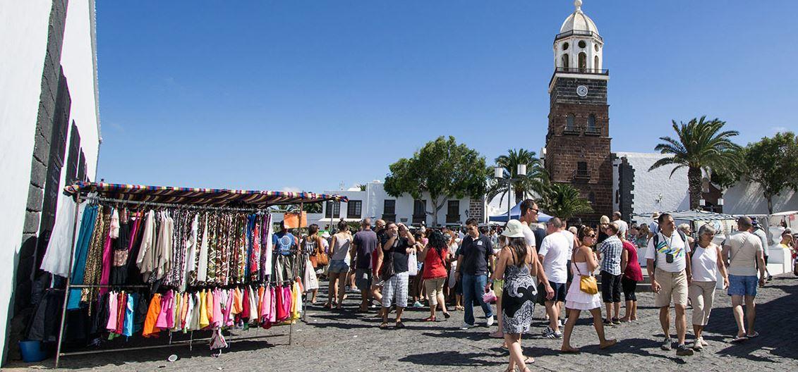 Mercadillo de Teguise Viaje a Lanzarote