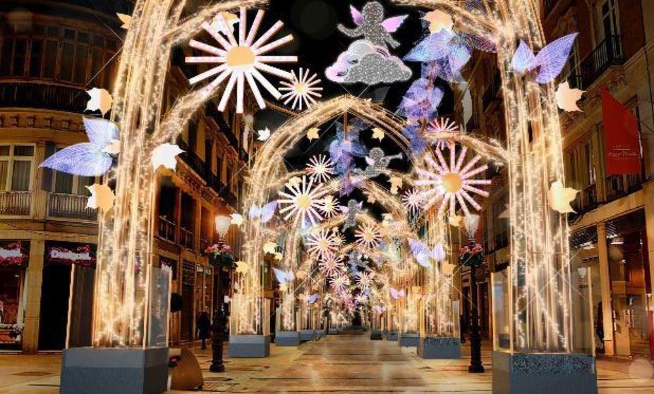 Malaga Encendido de Luces Navidad b2b Viajes