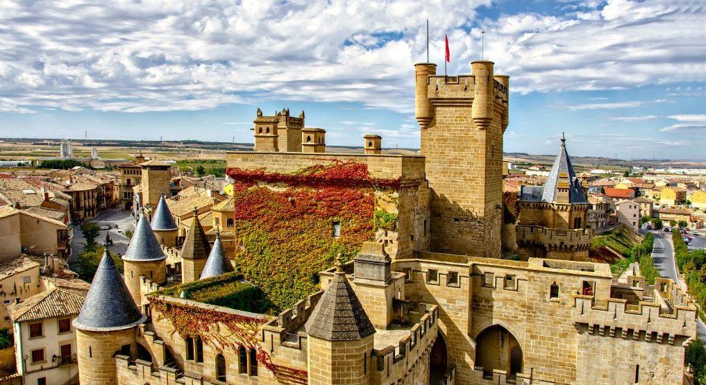 Navarra Castillo Palacio Olite