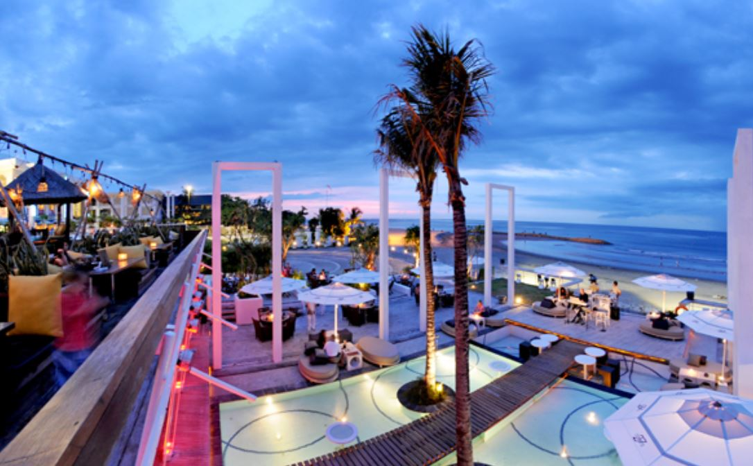 Oceans 27 Beach Club para salir de noche en Bali