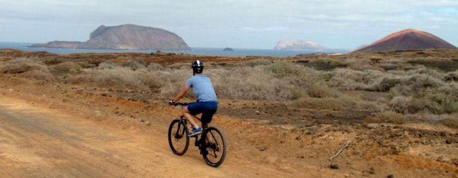 Paseo en bicicleta por Lanzarote