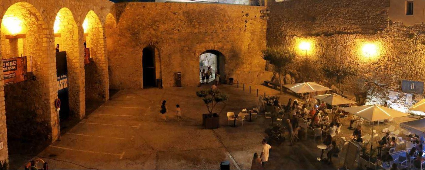 Peñiscola de noche