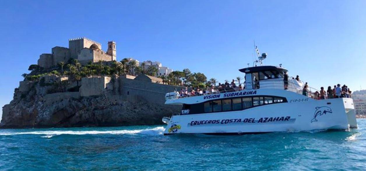 Excursion en barco desde Peñiscola B2Bviajes