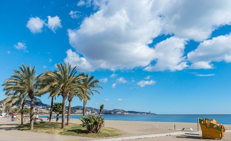 Playa de la Malagueta Malaga Fin de Semana b2b Viajes