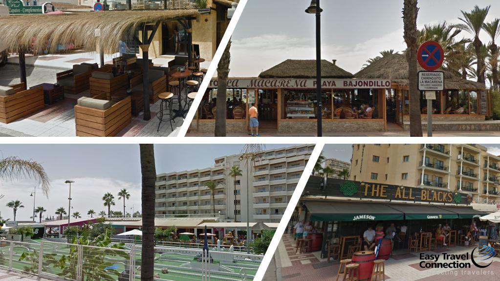 Zona de Playa Junto a Hotel Aguamarina Mini Golf Chiringuitos y Pubs B2BViajes