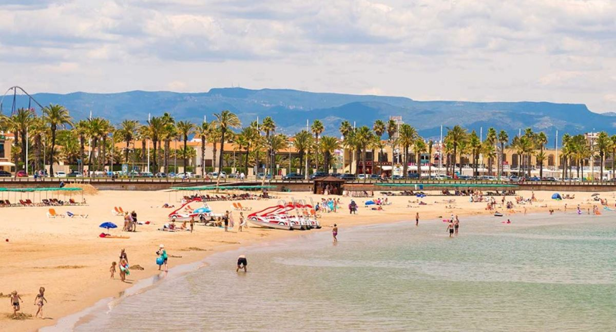 Playa de Pineda de Mar B2Bviajes