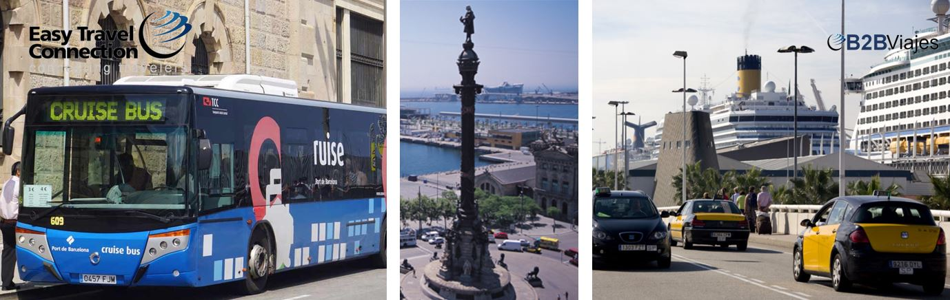 Como llegar al puerto de Barcelona Port Bus o taxi a terminal de cruceros B2Bviajes