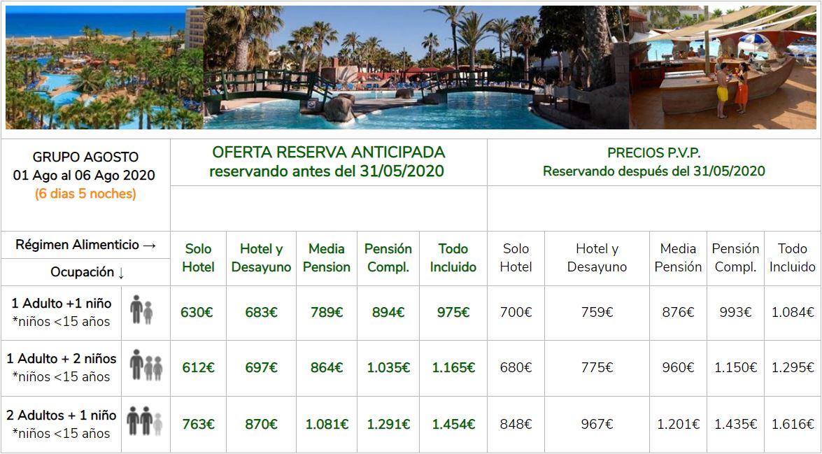 Oferta Anticipada Hotel PlayaSol Roquetas de Mar Verano 2020