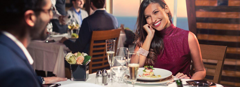 Restaurantes Barco Costa Esmaralda de Costa Cruceros con B2Bviajes