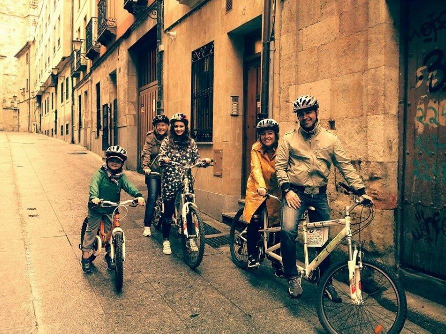 Alquiler Bicicleta Salamanca b2b Viajes