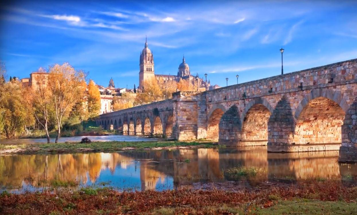 Puente Romano Rio Tormes Salamanca que hacer b2b Viajes