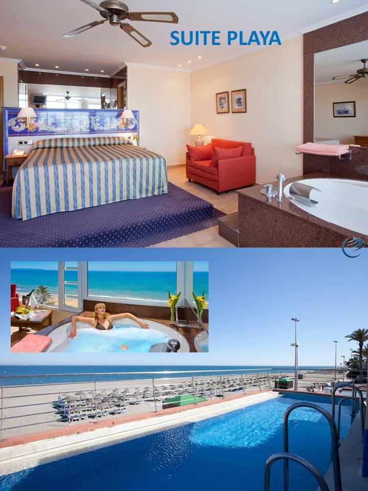 Habitacion Suite Playa Hotel Playasol Roquetas de Mar Almeria