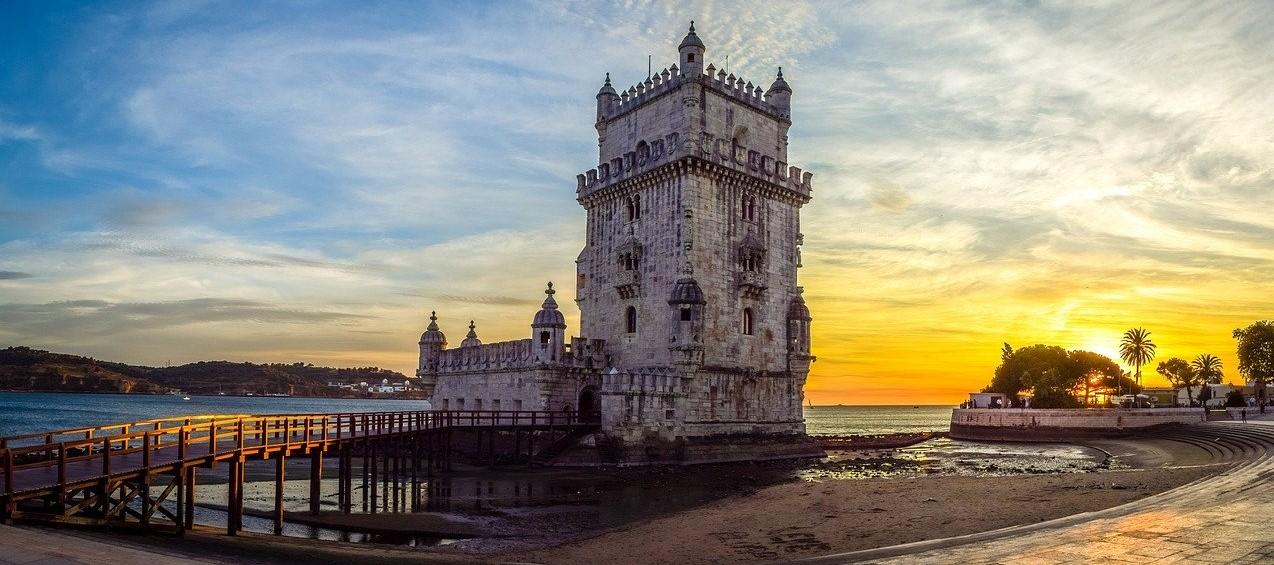 Torre de Belem Visita de Lisboa Cirucito Portugal Monumental Vacaciones Singles
