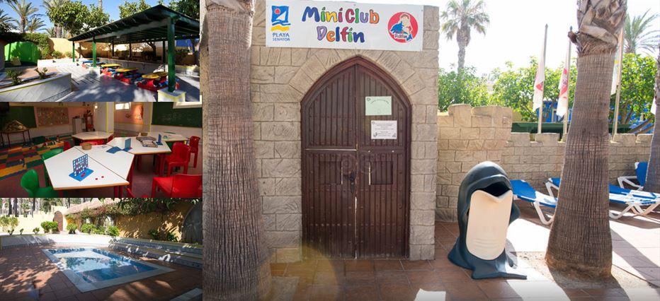 mini club hotel playasol roquetas vacaciones singles con niños