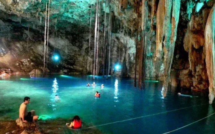 xenotes excursion riviera maya viajes singles